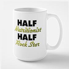 Half Nutritionist Half Rock Star Mugs
