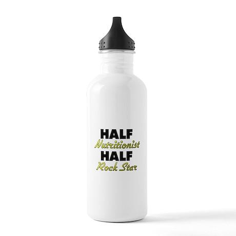 Half Nutritionist Half Rock Star Water Bottle