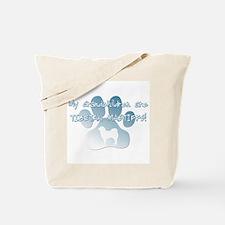 Tibetan Mastiff Grandchildren Tote Bag