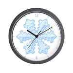 Flurry Snowflake XIII Wall Clock