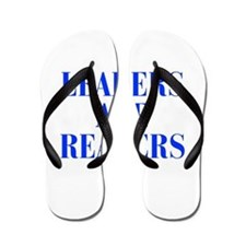 leaders-are-readers-BOD-BLUE Flip Flops