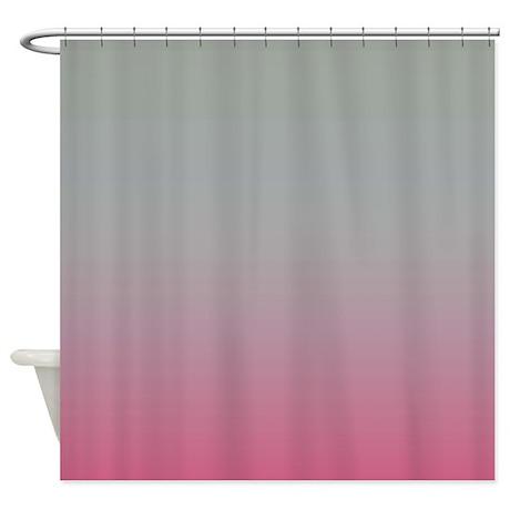 Sea Mist Pink Shower Curtain By CopperCreekDesignStudio