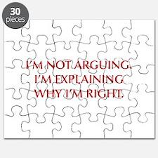 IM-NOT-ARGUING-OPT-RED Puzzle