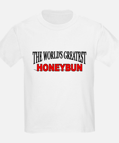 """The World's Greatest Honeybun"" Kids T-Shirt"