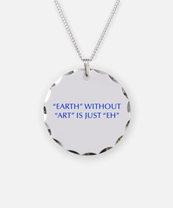 EARTH-WITHOUT-ART-OPT-BLUE Necklace