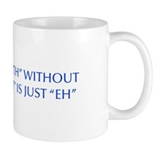 EARTH-WITHOUT-ART-OPT-BLUE Mugs