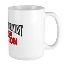 """The World's Greatest Lover Button"" Mug"