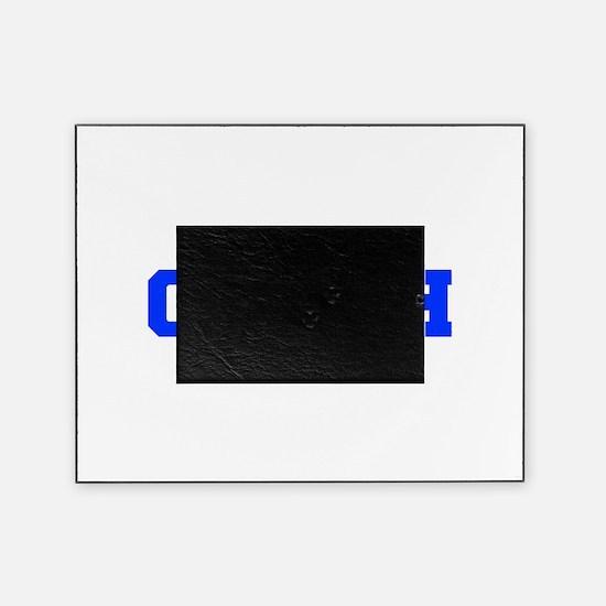 COACH-FRESH-BLUE Picture Frame