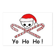x-mas pirate Postcards (Package of 8)