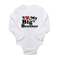 I Love My Big Brother Baby Outfits