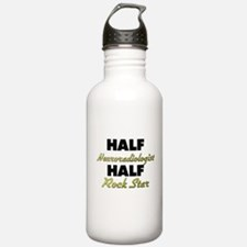 Half Neuroradiologist Half Rock Star Water Bottle