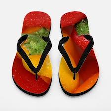 Bell Peppers Flip Flops