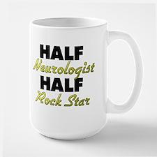 Half Neurologist Half Rock Star Mugs