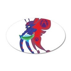 Anarchy Imp Wall Decal