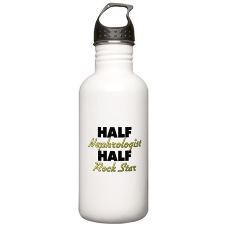 Half Nephrologist Half Rock Star Water Bottle