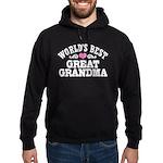 World's Best Great Grandma Hoodie (dark)
