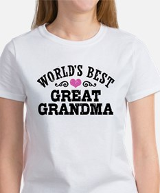 World's Best Great Grandma Tee