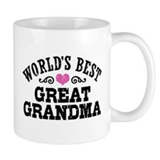 World's Best Great Grandma Small Mug