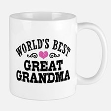 World's Best Great Grandma Small Mugs
