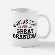 World's Best Great Grandma Small Small Mug