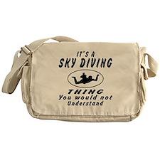 Sky diving Thing Designs Messenger Bag