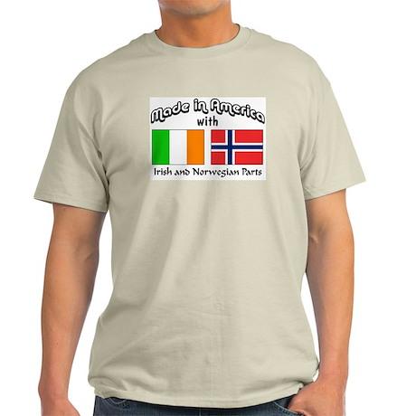 Irish & Norwegian Parts Light T-Shirt
