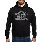 World's Best Great Grandpa Hoodie (dark)