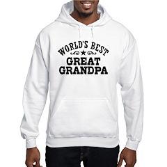 World's Best Great Grandpa Hoodie