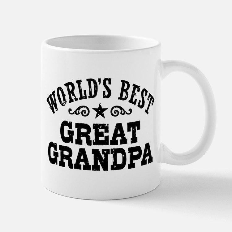 World's Best Great Grandpa Mug