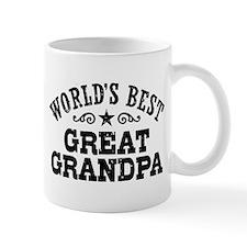 World's Best Great Grandpa Small Mugs