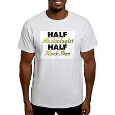 Half Musicologist Half Rock Star T-Shirt