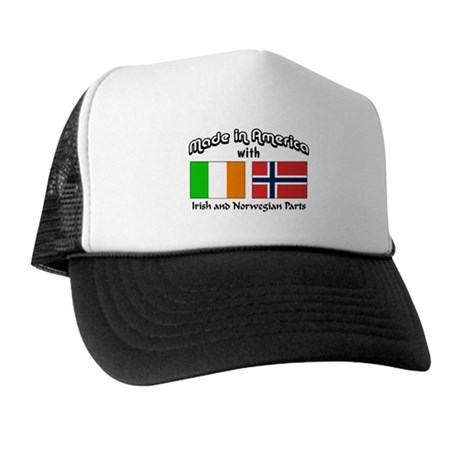 Irish & Norwegian Parts Trucker Hat