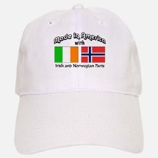 Irish & Norwegian Parts Baseball Baseball Cap