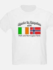 Irish & Norwegian Parts T-Shirt