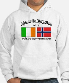 Irish & Norwegian Parts Hoodie Sweatshirt