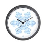 Flurry Snowflake XVII Wall Clock