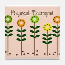 Physical Therapist A blanket Tile Coaster