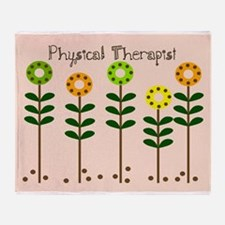 Physical Therapist A blanket Throw Blanket
