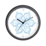 Flurry Snowflake XIX Wall Clock