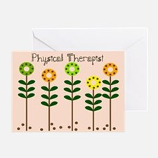Physical Therapist A blanket Greeting Cards