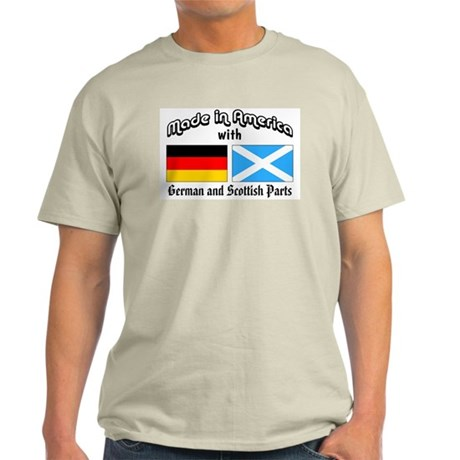 German & Scottish Parts Light T-Shirt
