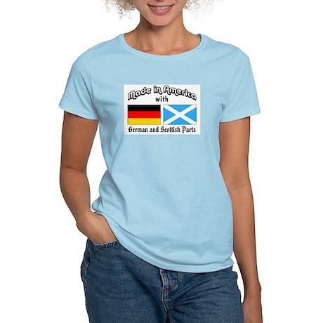 German & Scottish Parts Women's Light T-Shirt