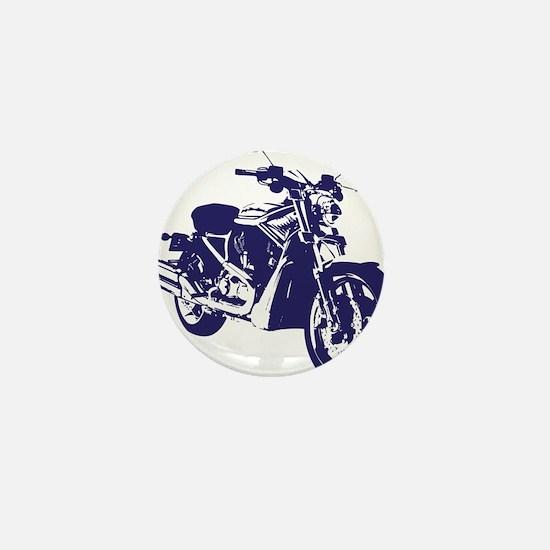 Motorcycle - Biker Mini Button