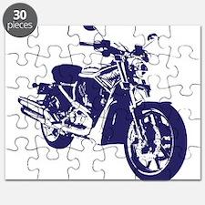 Motorcycle - Biker Puzzle