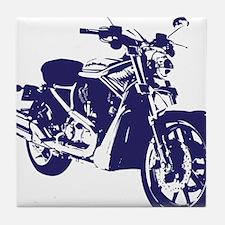 Motorcycle - Biker Tile Coaster