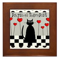physical Therapist A Blanket CAT Framed Tile