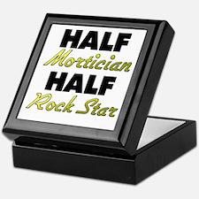 Half Mortician Half Rock Star Keepsake Box