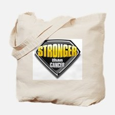 Stronger than cancer Tote Bag