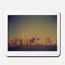 """Manhattan Skyline"" Mousepad"