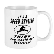 Speed Skating Thing Designs Mug